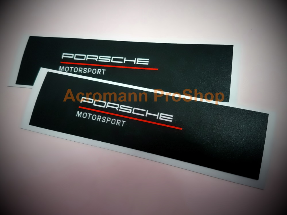 Porsche Motorsport racing carrera GT3 cup 4inch Decal Sticker #2
